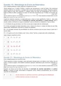 APOL de matematica