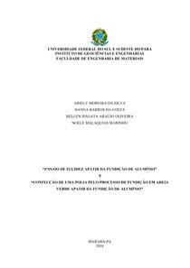 1 Relatório de Fluidez e Polia