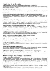 Roteiro de Estudos Periodontia UFPR