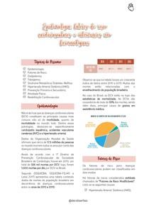 Epidemiologia, fatores de risco cardiovasculares e intervenções não farmacológicas (Resumo Digitado)