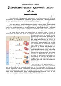 Distensibilidade vascular e funções dos sistemas arterial e venoso