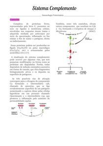 Sistema Complemento 6 - Imunologia