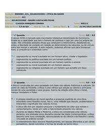 AV1 Ética na Saúde