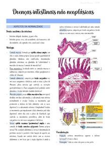 Doenças Intestinais não Neoplásicas