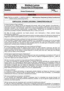 WL-P & R-04-Direito Constitucional-08-O Poder Judiciário - O Ministério Público-001