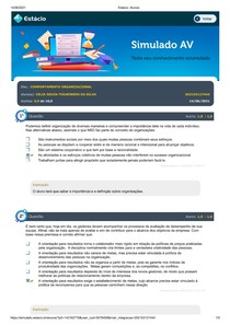 Estácio_COMPORTAMENTO ORGANIZACIONAL