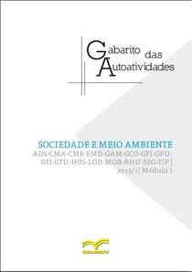 Sociedade e Meio Ambiente - Gabarito Autoatividades