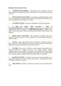 84e8b14750f3a REGRAS BÁSICAS DO FUTSAL - Futsalu