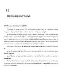 Processo administrativo manual de direito administrativo 6 ed