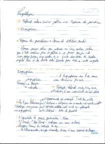 Anotações aula de psicopatologia