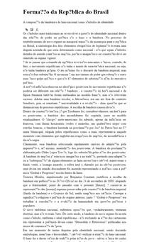 Formação da República do Brasil