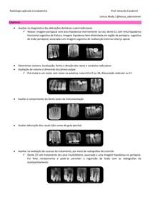 11 - Radiologia aplicada à endodontia