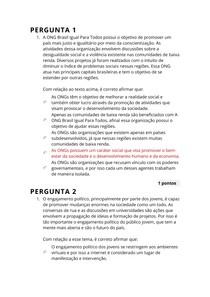 DESENVOLVIMENTO HUMANO E SOCIAL - A4