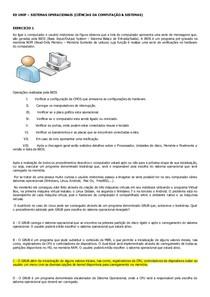 ED  SISTEMAS OPERACIONAIS UNIP -  RESPOSTAS E JUSTIFICATIVAS