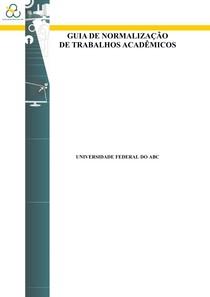 Guia Normalizacao de Trabalhos Acadêmicos - UFABC