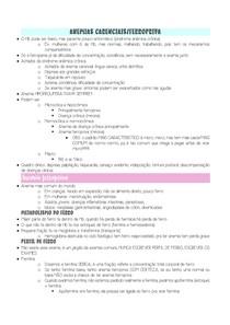 Anemias carenciais/ferropriva