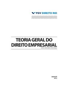 Apostila FGV  direito empresarial