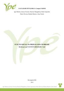 YPÊ • Função social da propaganda