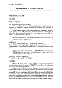 CADERNO PROCESSO PENAL
