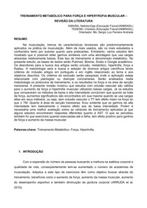 Treinmetabolico Fhpdf Fisiologia Do Exercício 5