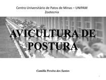 AVICULTURA DE POSTURA