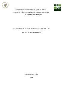 Descrição Detalhada da Área do Ortofotomosaico fotogrametria