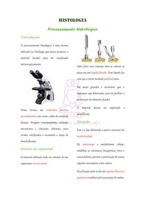 processamento histológico