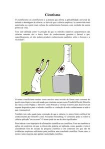Cientismo