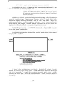 09 - Prescrição, Decadência, Obrigações (1) doc