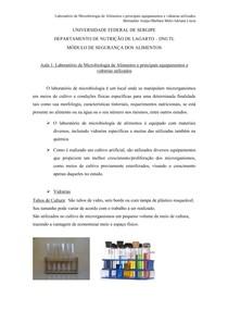 Laboratório de Microbiologia dos Alimentos