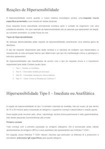 Reações de Hipersensibilidade - Imunologia Veterinária 12fca26d4c