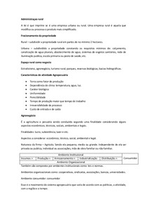 administraçao rural prova 1