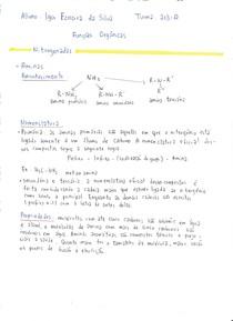 Resumo das Funções Orgânicas