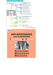 esquemas- farmacos- ANTIINFLAM ESTEROIDAL E NÃO-ESTEROIDAL; ANESTÉSICOS; ANALGÉGICOS; CARDIOVASCULAR