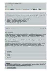 2014 AV3 - Análise Textual