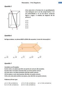 Geometria plana e Espacial - Parte 3