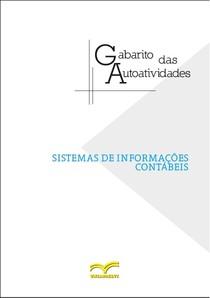GABARITO AUTOATIVIDADES   LIVRO SISTEMAS DE INFORMAÇÕES CONTÁBEIS