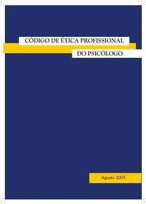 Novo Código de Ética Profissional do Psicólogo