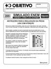simulado objetivo linguagens códigos e suas tecnologias 2009 resolução comentada