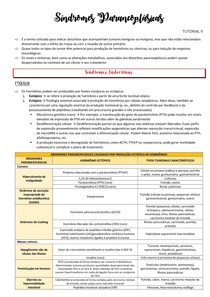 Síndromes Paraneoplásicas (RESUMO)