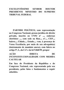 MODELO PEÇA ADIN