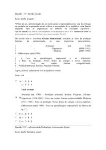 Administração Pedagógica Instrumentos Legais 100