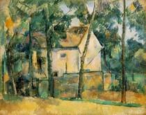 Paul Paul Cézanne - House and Trees