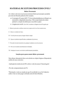 MATERIAL DE ESTUDO PROCESSO CIVIL I