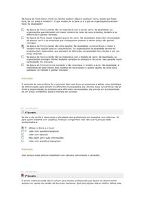 RESUMO GESTÃO DE DESEMPENHO E MÉTRICAS