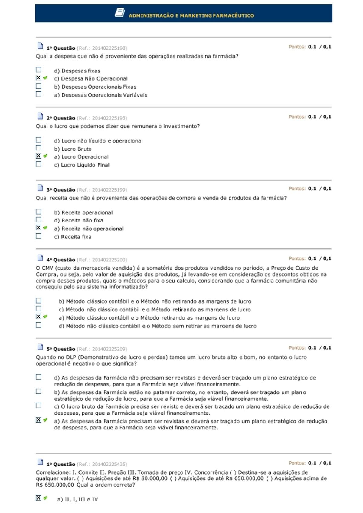 Pre-visualização do material ADMINISTRAÇÃO E MARKETING FARMACÊUTICO - página 1