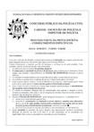 penal, processual, adm policia civil