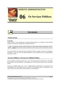 ADM 06 - Os Serviços Públicos