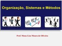 Slides Org sistema e metodos