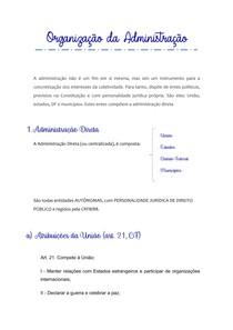 ORGANIZAÇÃO DA ADMINISTRAÇÃO - TERCEIRO SETOR